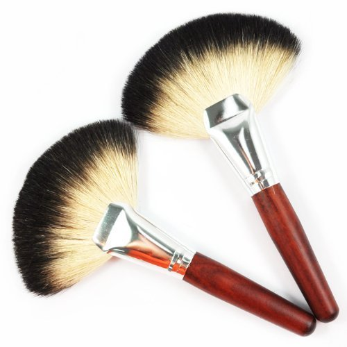 BF New Mineral Makeup Fan Brush , Cosmetic Brushes High Quality Soft Goat Hair brush CODE: #249