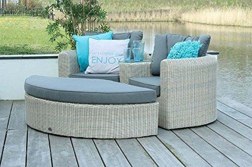 Loveseat Sunrise – Gartenmöbel 2-Sitzer – Rattan – Provance – SUNS jetzt kaufen