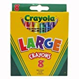 Crayola Large Crayons Tuck Box - 8 Count - 2 Packs