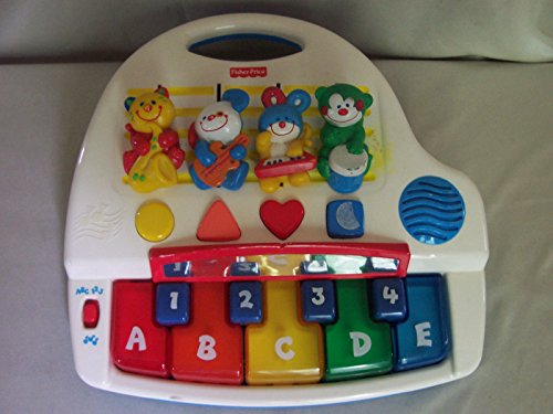 Fisher Price Learning Piano Alphabet Numbers Shapes - 1