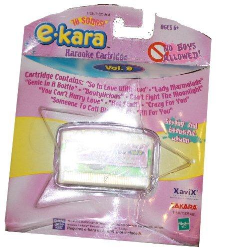 e-kara Karaoke Cartridge - No Boys Allowed Volume 9 - Strong and Beautiful Women Series - 10 Songs - 1