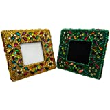 Antique Photo Frame Table Top Vintage Style Picture Frame Home Decor Handmade Beaded Material Decorative Picture...