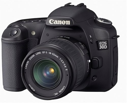 Canon EOS 30D 8.2MP Digital SLR Camera Kit with EF-S 18-55mm f/3.5-5.6 Lens Discount