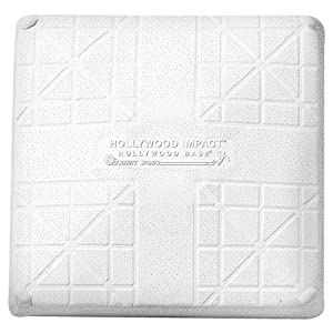Hollywood Bases Impact Set of 3 Bases Less Anchors by Hollywood