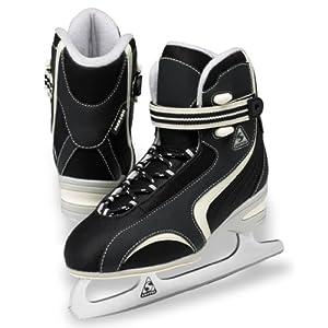 Jackson Softec Classic Ice Skates - ST2200 Black Ladies Figure Ice Skates by Jackson