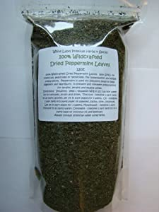 Dried Peppermint Leaves 12 oz.