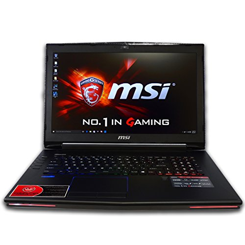 CUK MSI GT72 Dominator 17.3-inch Intel 6th Gen 16GB 256GB SSD + 2TB HDD NVIDIA GTX 970M 3GB Windows 10 Full HD Gaming Laptop Computer