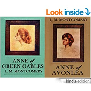 ANNE OF GREEN GABLES plus its sequel ANNE OF AVONLEA (with the original illustrations)
