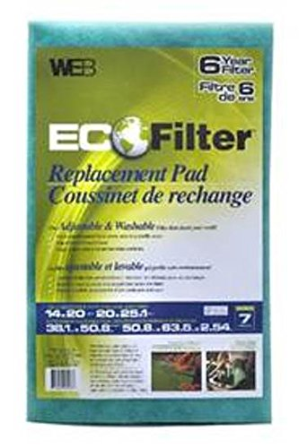 Cheapest Price! WEB Eco Filter Replacement Pad, 6 Year