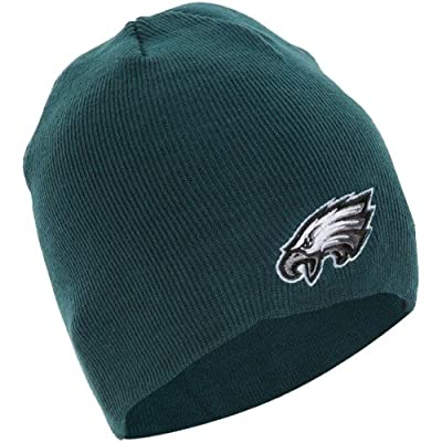 NFL Philadelphia Eagles Men's Beanie Knit Cap, One Size, Pacific Green