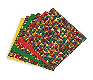 Building blocks multi pack printed craft vinyl for Vinyl sheets for crafts