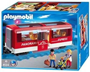 Playmobil - 4124 - Train Radio-commandé -  Voyageurs  +  Wagon