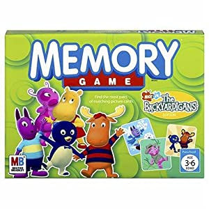 Backyardigans Memory Game