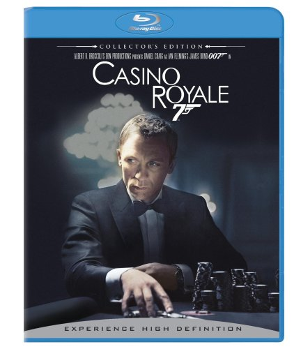 Cover art for  Casino Royale (Two-Disc Collector's Edition + BD Live) [Blu-ray]