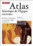echange, troc Manley/Martinez - Atlas historique de l'Égypte ancienne