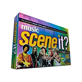 Scene It Music game!