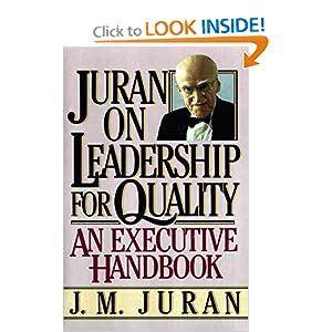 Juran on Leadership For Quality J. M. Juran