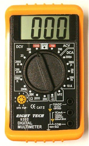Buy Pocket Sized Digital Multimeter with Backlit 3 1/2 Digit Display