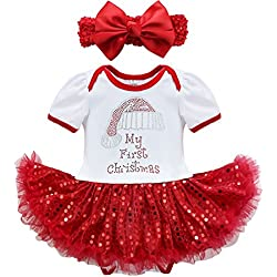 Baby's First Christmas Outfit |