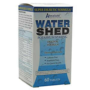 Absolute Nutrition Water Shed - 60 Tablets (12 Pack)