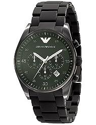 Emporio Armani Quartz Chronograph Green Dial Men's Watch AR5922