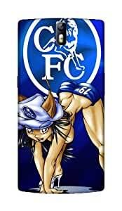Chelsea Football Club Design - OnePlus One / OnePlus 1 Mobile Hard Case Back Cover - Printed Designer Cover for OnePlus One / OnePlus 1 - OPOCFCB139