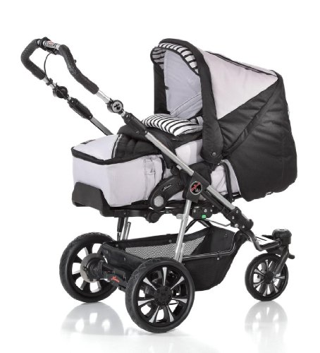 baby buggy g nstig hartan kombi kinderwagen airspeed 702 inkl softtragetasche baby. Black Bedroom Furniture Sets. Home Design Ideas