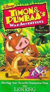 Timon & Pumbaa: Quit Buggin Me [VHS]