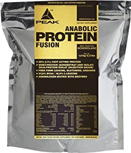 Peak Anabolic Protein Fusion, Vanille, 1000 g