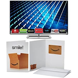 VIZIO M422i-B1 42-Inch 1080p Smart LED TV with $50 Amazon Gift Card