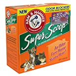 Arm & Hammer Baking Soda Clumping Litter, Fresh Scent, 14 lbs (6.35 kg)