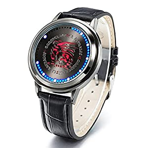 ZRDTH Punk Style Watch Monster Hunter Rathalos Icon Collector's Edition Touch Screen LED Watch