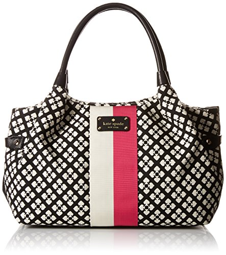 Kate Spade Classic Spade Stevie Bag in Black & Cream (Kate Spade Tops compare prices)