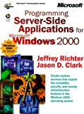 Programming Server-Side Applications for Microsoft Windows 2000 (Dv-Mps Programming)