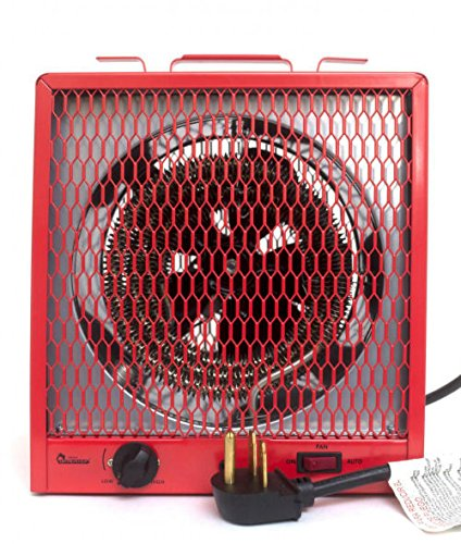 Dr. Infrared Heater DR-988 Garage Shop 208/240V, 4800/5600W Heater with 6-30R Plug (Construction Electric Heaters compare prices)