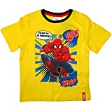 Spiderman T-Shirt 2015 Kollektion 92 98 104 110 116 122 128 Shirt Kurz Jungen Sommer Neu Marvel Ultimate Amazing Gelb