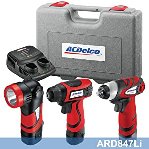 ACDelco ARD847Li Li-Ion 8-volt 2-in-1 Driver/Light Combo Kit with ARI810T Bare Tool at Sears.com