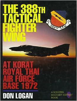 388th Tactical Fighter Wing at Korat Royal Thai Air Force Base 1972