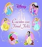 Disney princesa cuentos con final feliz: Disney Princess Happily Ever After Stories, Spanish-Language Edition (Silver Dolphin En Espanol) (Spanish Edition)