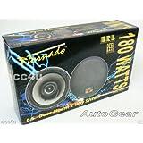 """Tornado Audio 6.5"""" inch 180w 180 Watts 2-Way Car Door Coaxial Speakers - Pair"""
