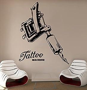 Tattoo Wall Vinyl Decal Tattoo Machine Vinyl Stickers