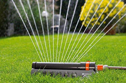 GARDENA 1971 Aquazoom 2700-Square Foot Oscillating Sprinkler