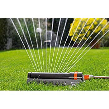 GARDENA 1971 Aquazoom 2700-Square Foot Oscillating Sprinkler