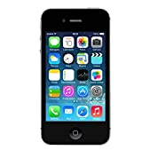 Apple iPhone 4 A1332, 8GB, Unlocked, Black - USED