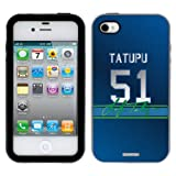 Lofa Tatupu - Color Jersey on iPhone 4 / 4S Guardian Case by Coveroo at Amazon.com