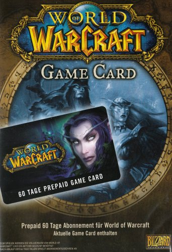 World of WarCraft – GameCard (60 Tage Pre-Paid)