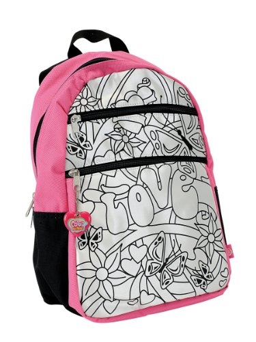 Simba Simba Color Me Mine Backpack, Pink (Multicolor)