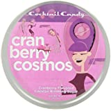 Cocktail Candy Cranberry Cosmos Cocktail Sugar, 4-Ounce Tins (Pack of 3)