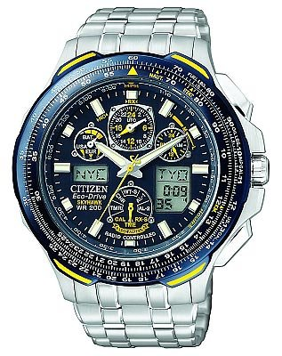 Citizen Men's JY0040-59L Eco-Drive Blue Angels Skyhawk AT Watch
