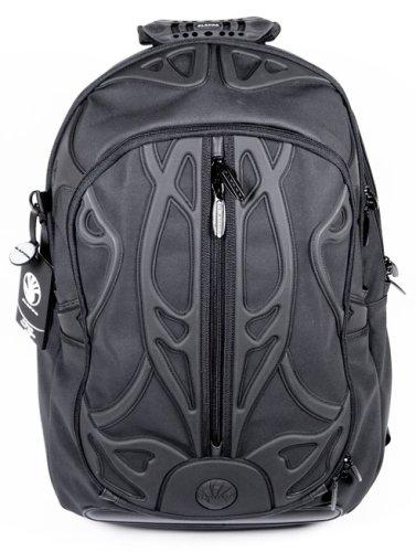 Slappa Velocity Pro Spyder Back Pack - BLACK Fits laptops up to 17